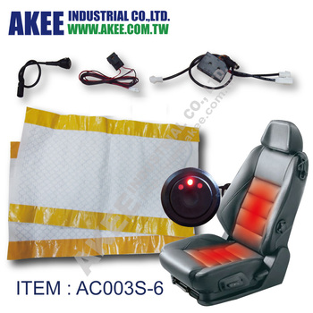Electric Heating Pad Car Seat Heater Kit Heated Pads