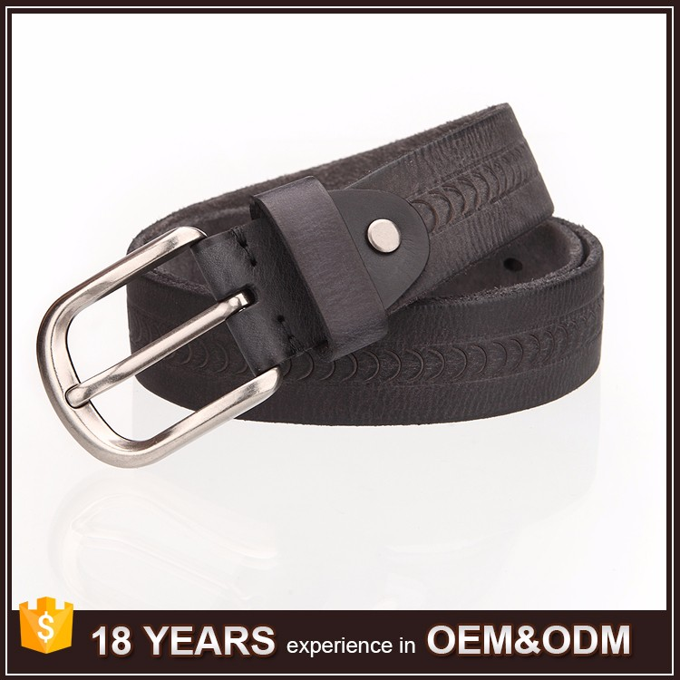 Italian Genuine Leather Belt For Men's Vintage Leather High Quality Luxury Brand Men Belt