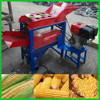 Professional corn peeling and threshing machine