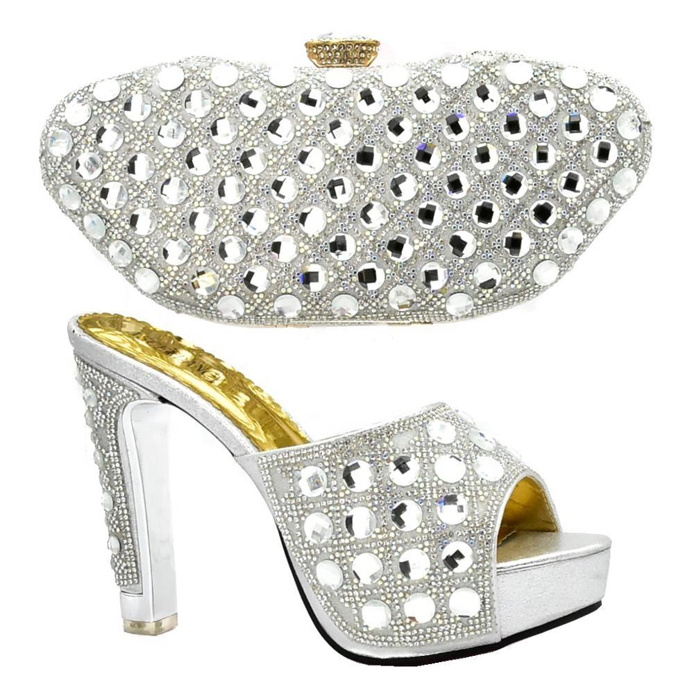 0b7dd280e9 China silver shoes and bag wholesale 🇨🇳 - Alibaba
