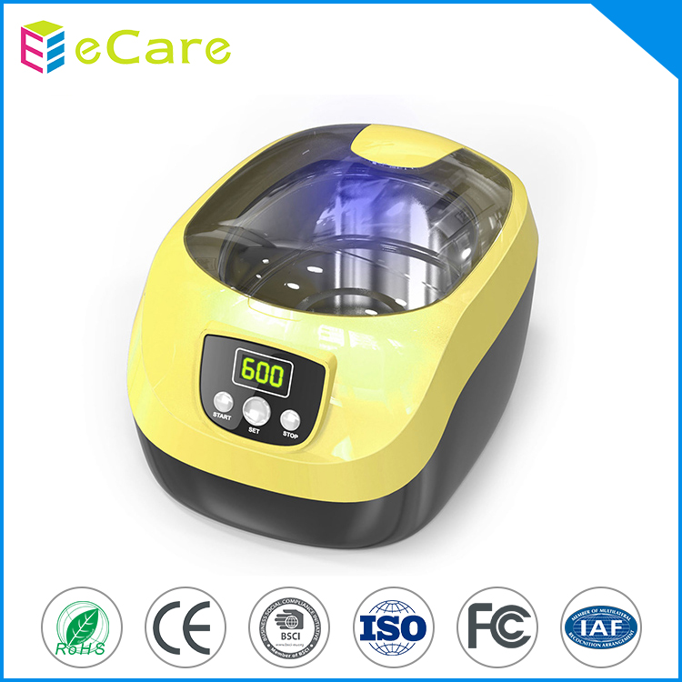 Modern design cd nails glass ultrasonic cleaner
