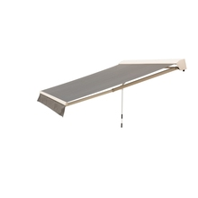 Outdoor Modern Manual Retractable Awning Rain Retractable Folding Arm Awning