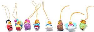 Winnie the Pooh Peek-a-Pooh #13 Circus Fun Capsule Toys Set of 8 vending Toys