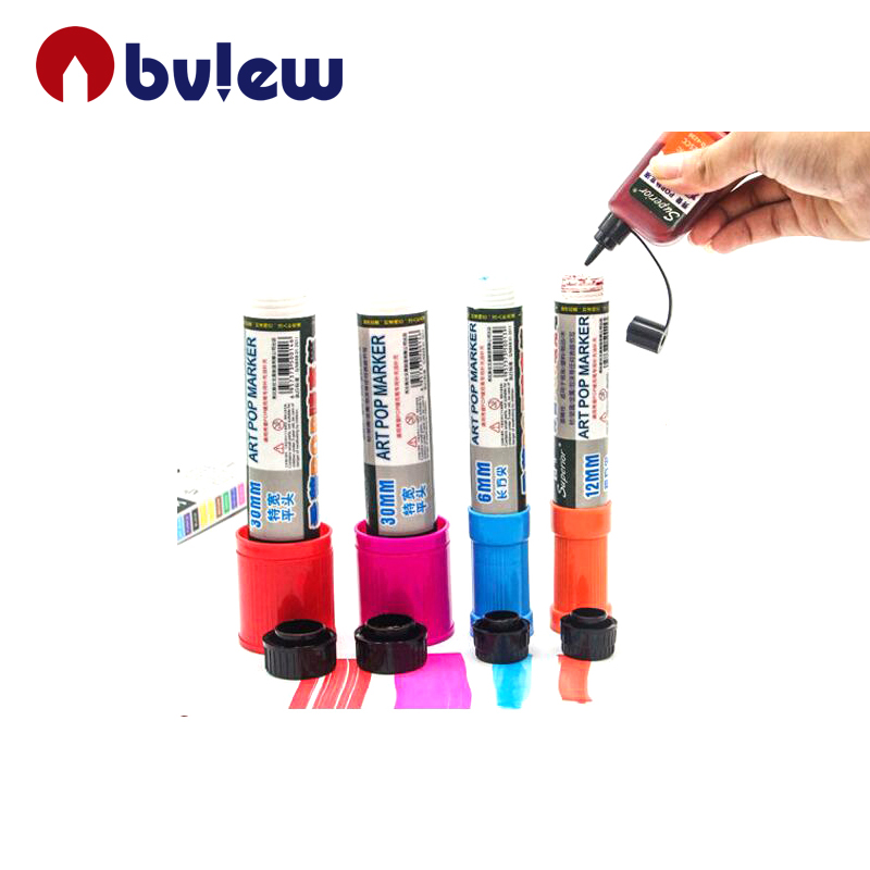 Jumbo POP Refiliable Art Marker Pen Used in Posters And Painting