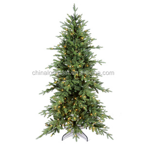 Christmas tree and garland and wreaths ornaments decoration