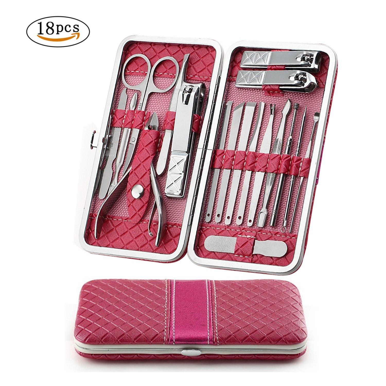 Buy Women Manicure Set Manicure Pedicure Set Nail Clippers - Aooeou ...