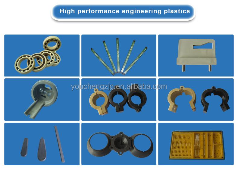 Custom plastic peek pipe fittings buy