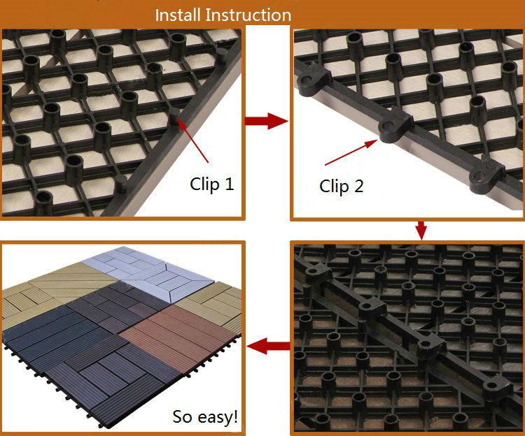 Outdoor Interlocking Floor Tiles Wpc Lowes Diy Composite Deck