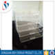 2018 factory transparent plastic customized cosmetic acrylic makeup organizer with drawer