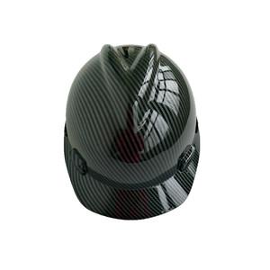 custom carbon fiber hard hats helmet safety en397