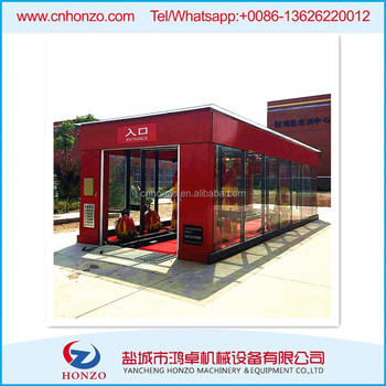 High Quality Cheap Price Tunnel Car Washing Machine