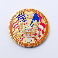 2018 Hight quality donald trump challenge coin/donald trump coin/custom donald trump gold coin