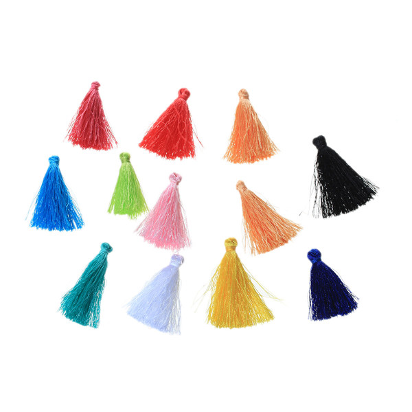 Cheap Wholesale Jewelry Findings Cotton Mini Tassel For Jewelry