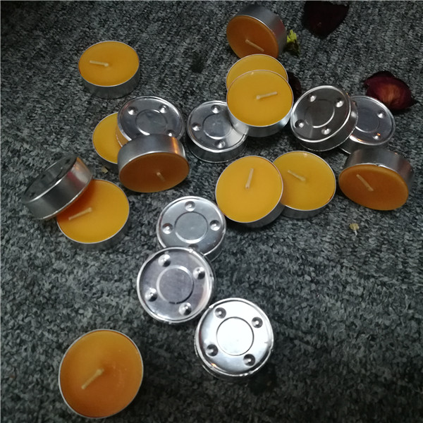 Bath use scented orange 4 hour manual hand craft tea light candles