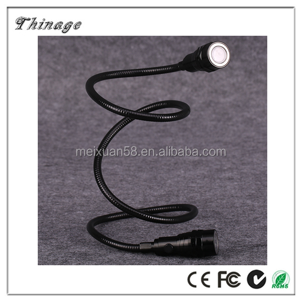 clever body scope with magnets flexible flexible flashlight