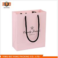 Factory supply unique design paper branded bag manufacturer sale