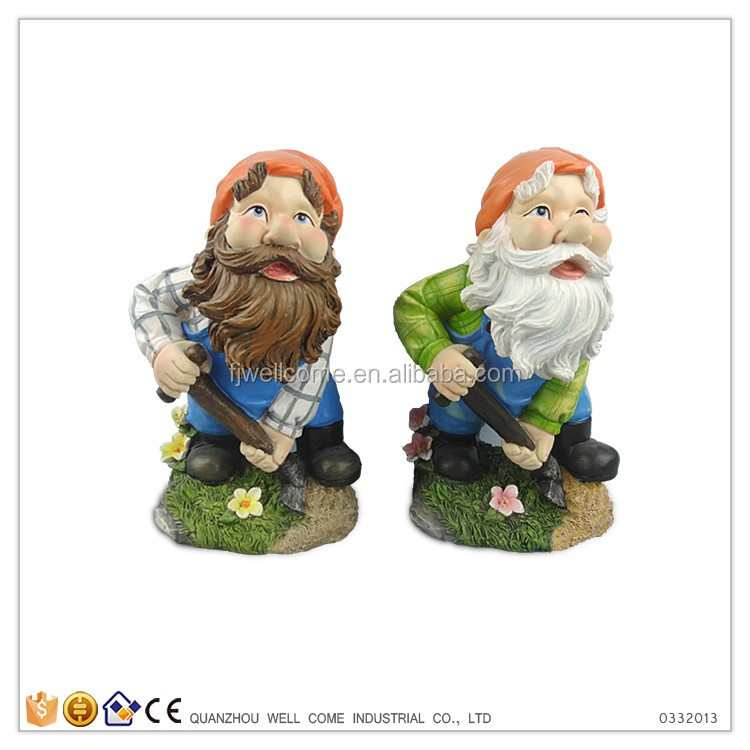 resin antique funny garden gnomes for sale - Funny Garden Gnomes
