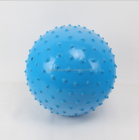 PVC inflatable ball massaging spiky ball bouncy toy ball