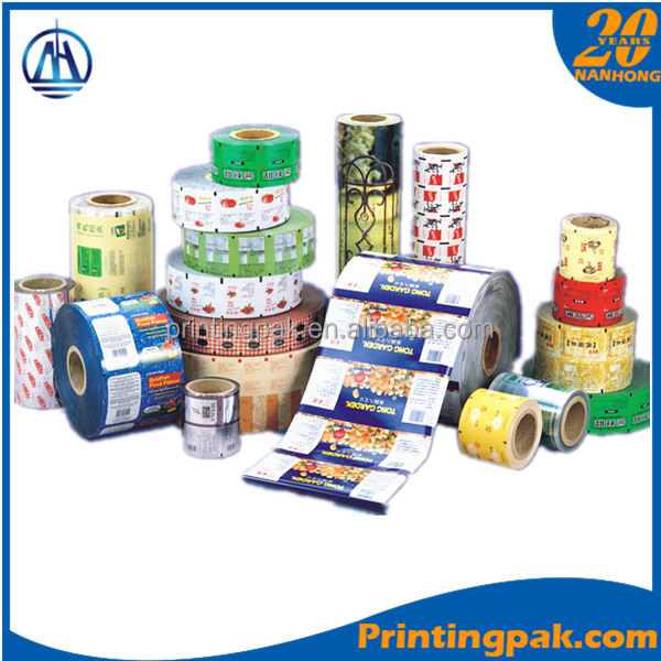 trade assurance printing film for ginger sugar/candy