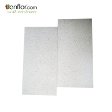 Stone surface and white color anti-slip glue down vinyl floor tiles