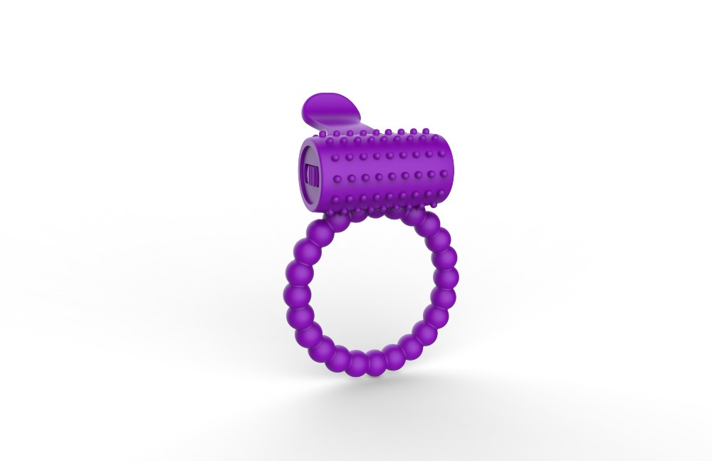 Cock ring vibrator