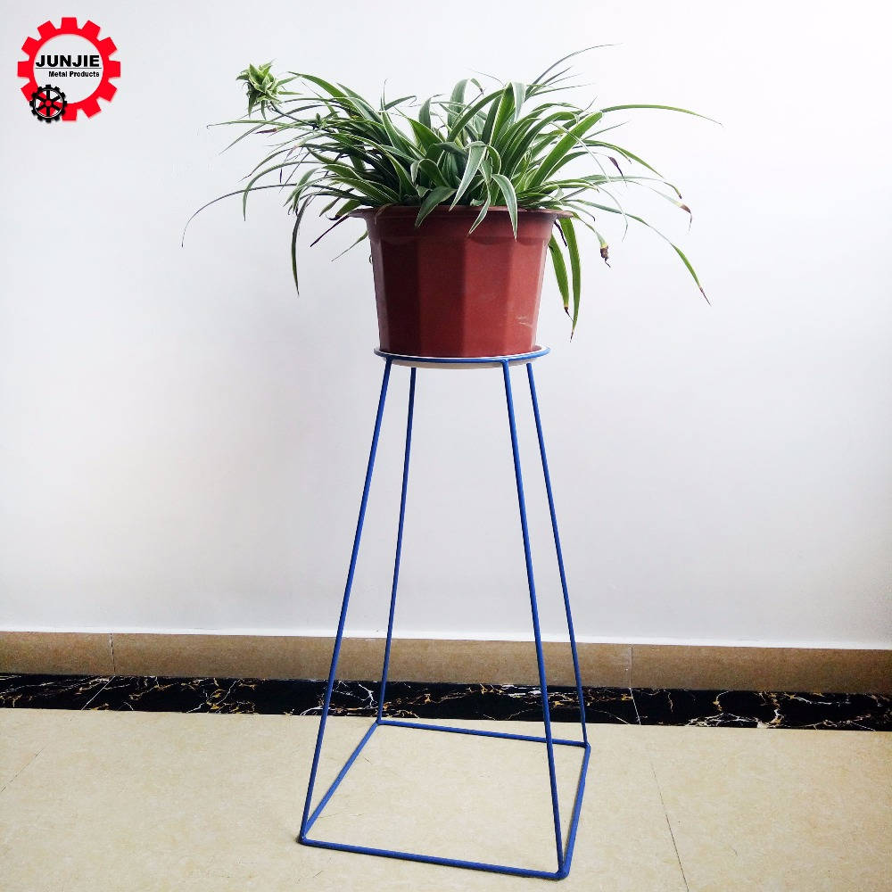 Indoor outdoor garden wedding decoration metal wire flower pot plant stand