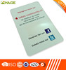 Promotional Microfiber Sticker Screen Cleaner with Back Paper Card