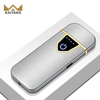 portable usb touch induction charging electronic cigarette lighters
