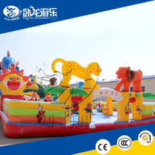 commercial inflatable water slide , inflatable jumping castle play field on sale !!!