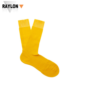RL-0413 mens yellow socks yellow mens socks