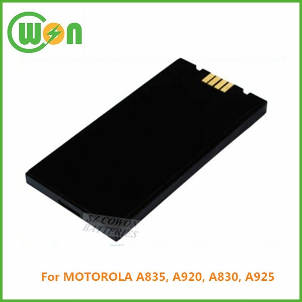 3.7V 750mAh li-ion rechargeable replacement battery for MOTOROLA A835, A920, A830, A925 SNN5639 SNN5639C SNN5639A SNN5631