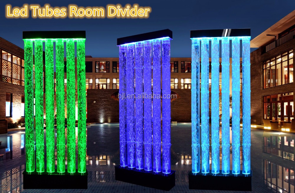 Bar Restaurant Hotel Led Water Bubble Wall Partition Wall