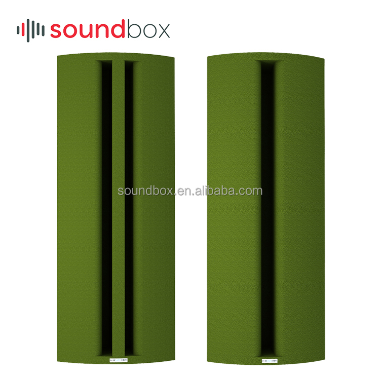 E0 Eco-friendly water based paint corner bass trap polymer acoustic <strong>panels</strong> for recording studio equipment