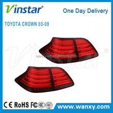 Clear Red Lens top quality Led tail lamp for Toyota CROWN 03-09