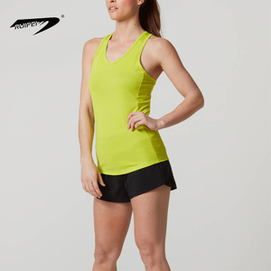 2019 Girls Green Sexy Sleeveless Gym Vests Tank Top For Women OEM Custom Factory Wholesale