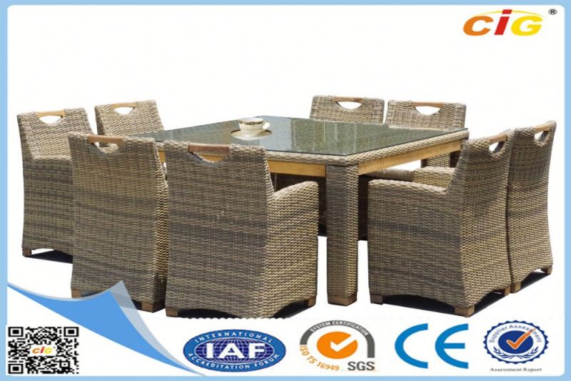 Newest Design Leisure Design malaysia furniture rubberwood dining table