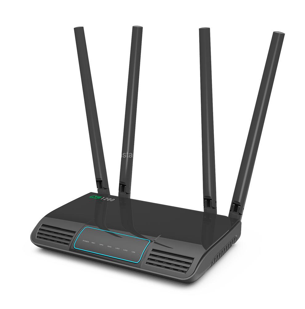 Dualband Long Range Wifi Router,Wifi Wireless Router,5g Ac866mbps 2.4g N300mbps - Buy ...