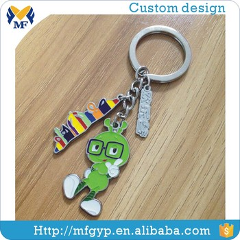 Hot selling metal keychain animal shape made in china