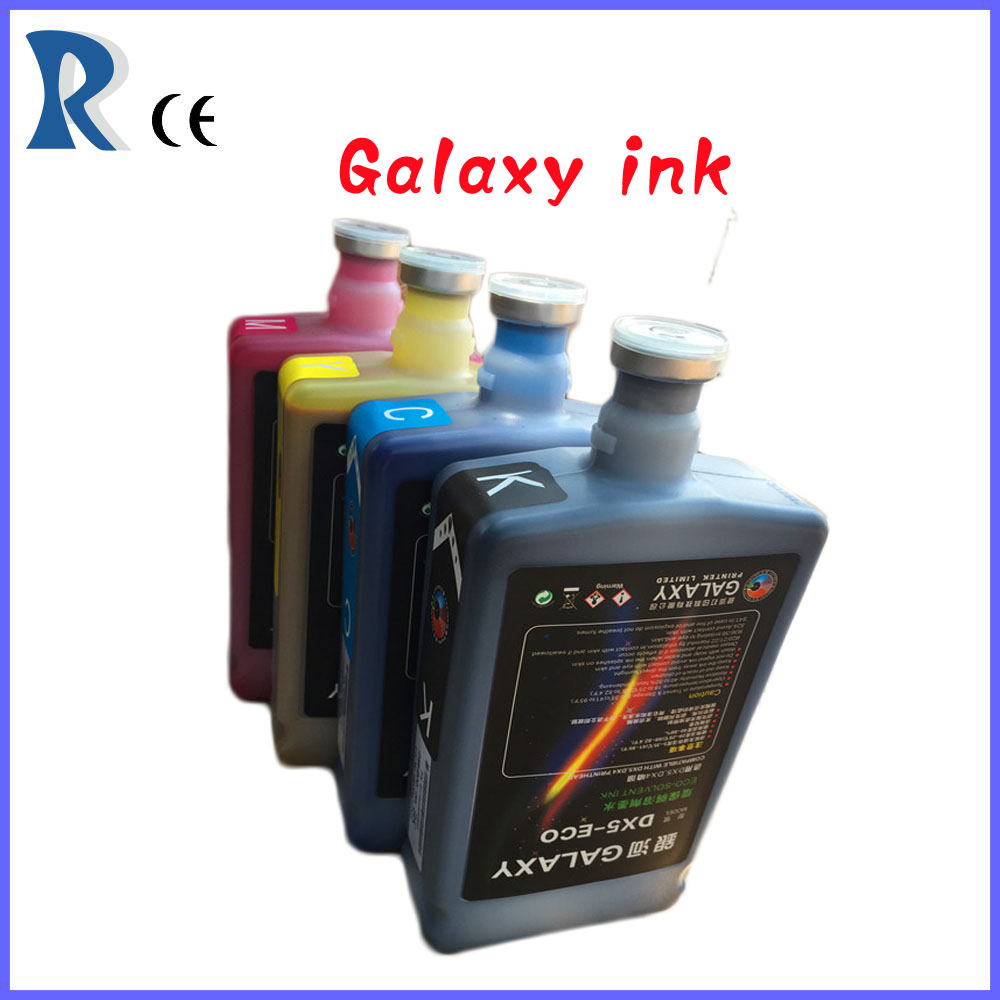 Guangzhou Dx5 heads eco solvent ink(1000ml original.CMYK)