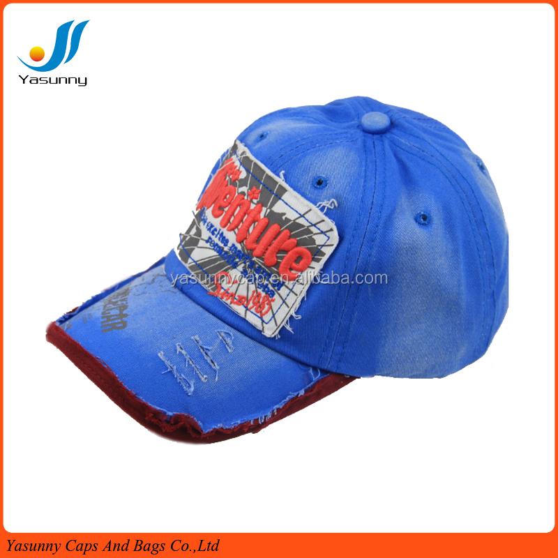 wholesale high quality custom cotton baseball caps