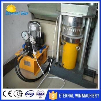 Widely used hydraulic press olive oil machine mini sesame for Mini pressa idraulica
