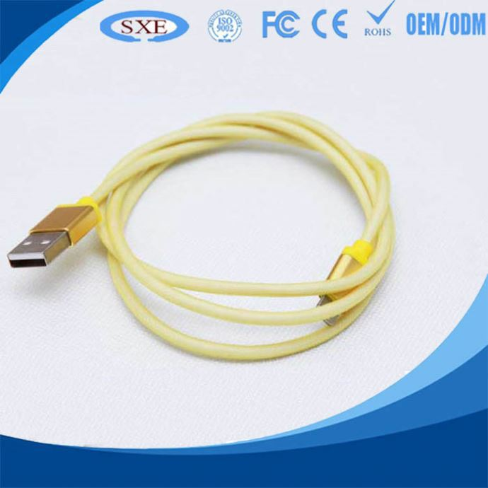 2015 hot selling micro usb cable data sync charger bracelet with new design