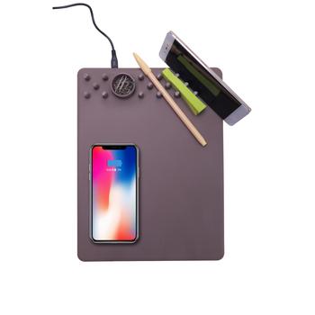 Chargeur sans Fil Tapis de Souris 2 en 1 Charging Pad