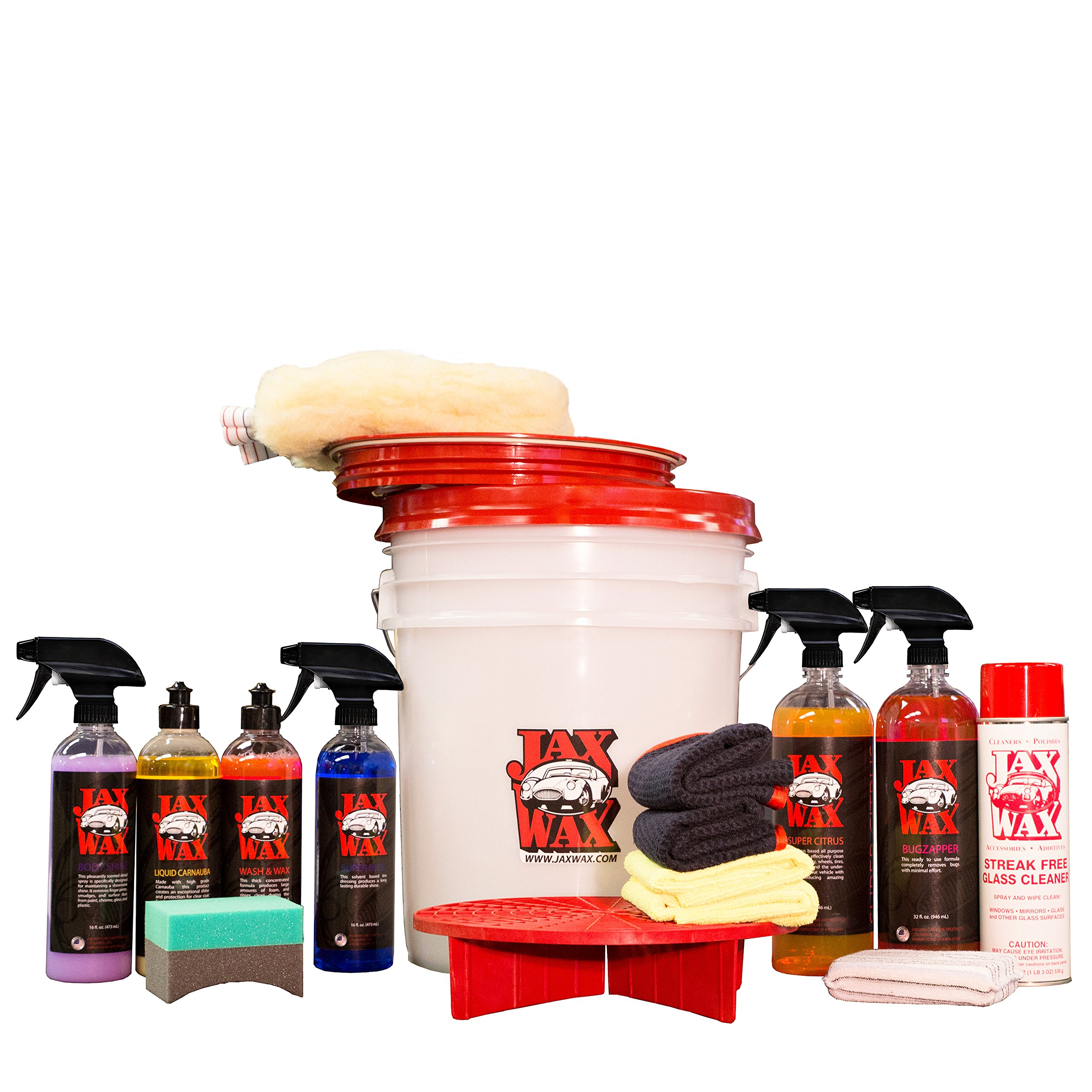 Cheap car wash wax find car wash wax deals on line at alibaba get quotations jax wax complete scratch free wash wax and detail bucket car care organizer kit solutioingenieria Gallery