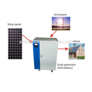 Low frequency all in one inverter 1KW 2KW 3KW 5KW solar generator cabinet with inverter controller battery built-in