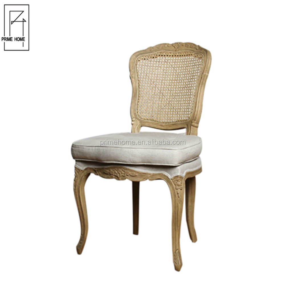 Classic Luxury Solid Wooden Fabric dining room chair