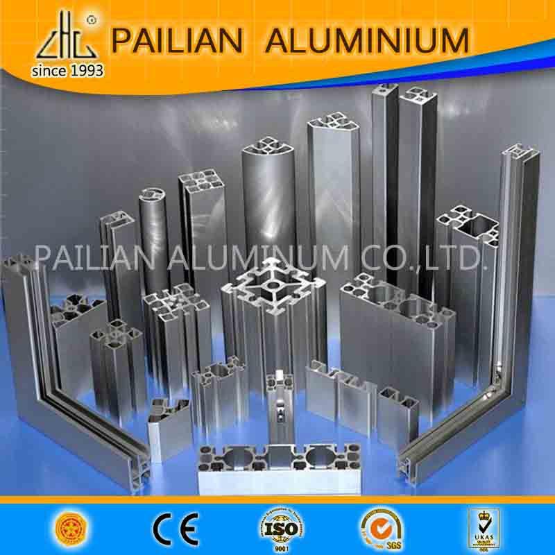 Workstations T Slot V Slot Aluminum Profile Extrusion