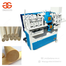 Excellent Public Reputation Wooden Broom Stick Rod Maker Wood Rounding Machine Wood Broom Handle Machinery