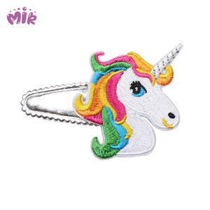 Clamp the side hair unicorn hair clip hair accessories for baby girls