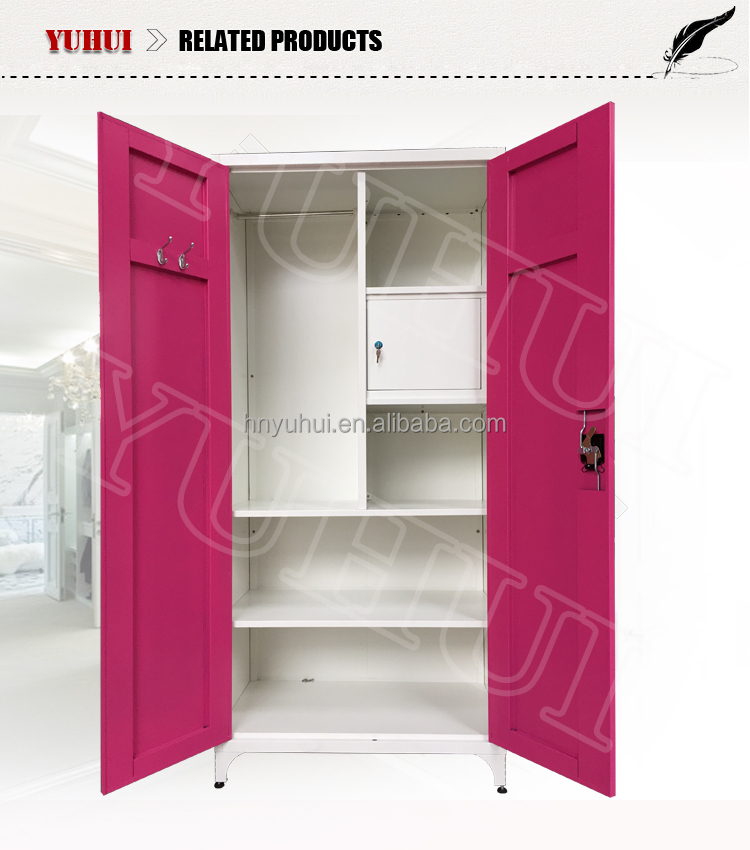 Indian bedroom wardrobe designs indian steel almirah for Bedroom almirah designs india